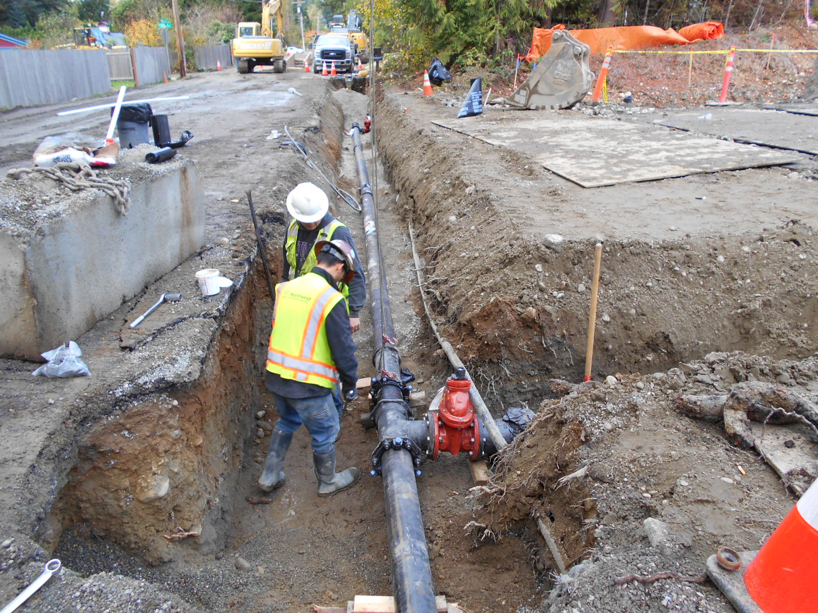 New Water Main Construction-2015